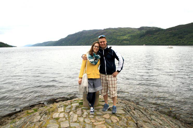 Fort Augustuksesta on kauniit maisemat Loch Nessille. Hirviötä ei näkynyt.