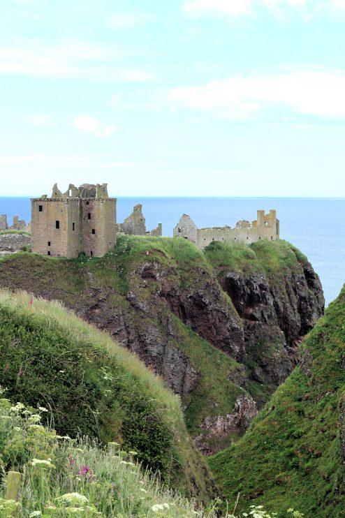 Päivän pääkohde: Dunnottar Castle.