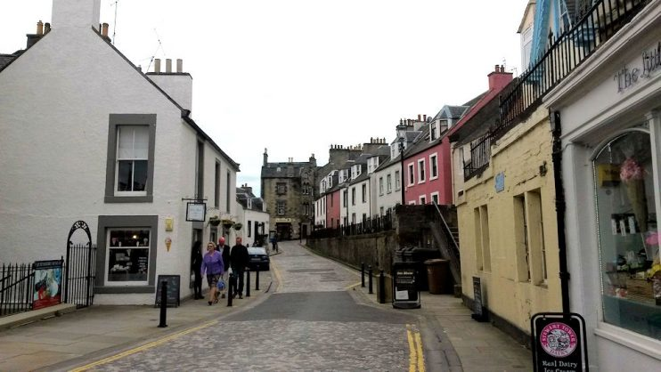 street in queensferry
