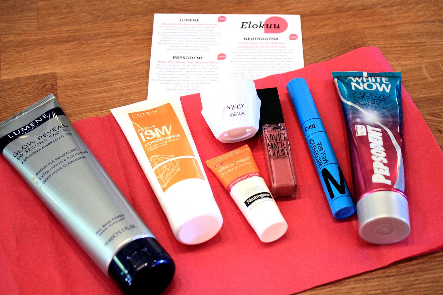 Nämä tuotteet lähtevät kahdelle onnekkaalle! Voittajat löytyvät postauksen lopusta.