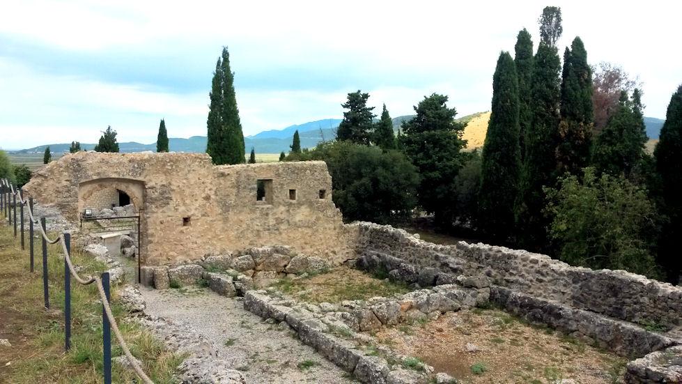 Vierailtiin Nekromandeion raunioilla, joiden uskotaan olevan portti Haadeksen pimeään maailmaan.