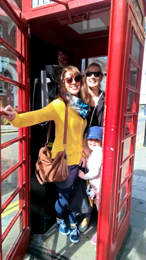 Pääsin sisareni perheen kanssa keväällä Lontooseen. Reissu oli aivan huippu.