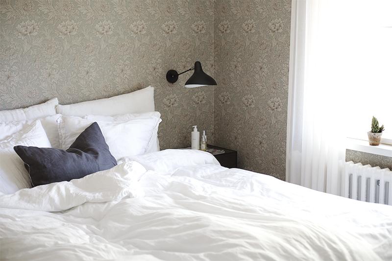 Makuuhuoneen valaistus toteutetaan tarpeet priorisoiden