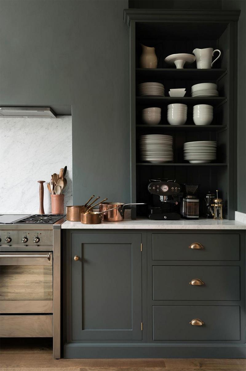 Uuden kodin keittiösuunnitelmia