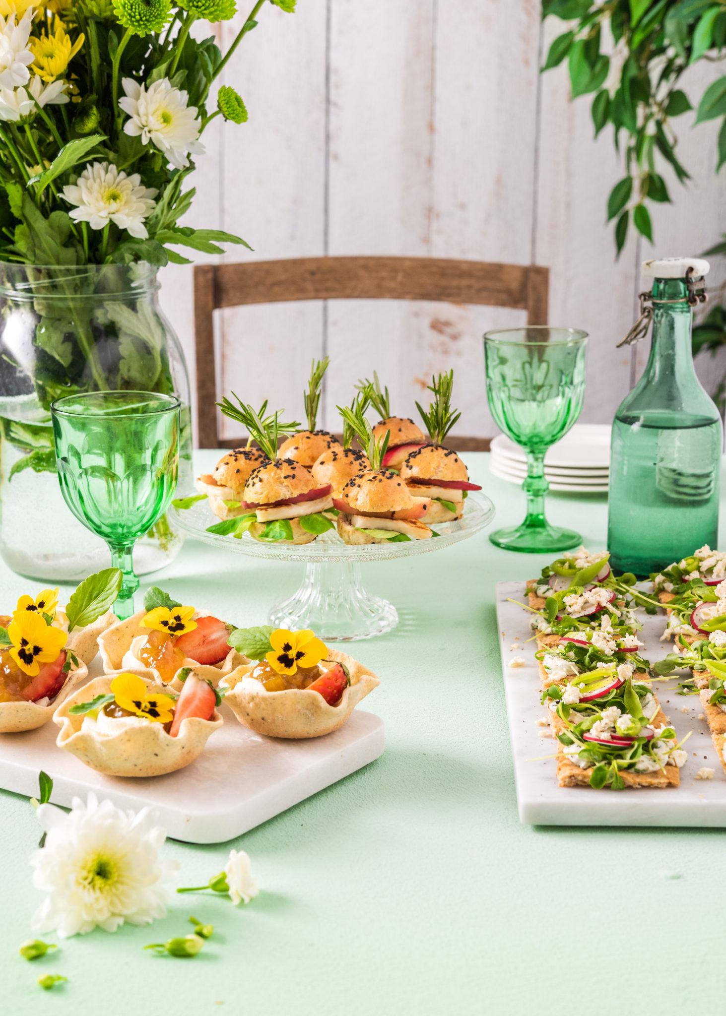 Pientä ja maukasta juhlapöytään