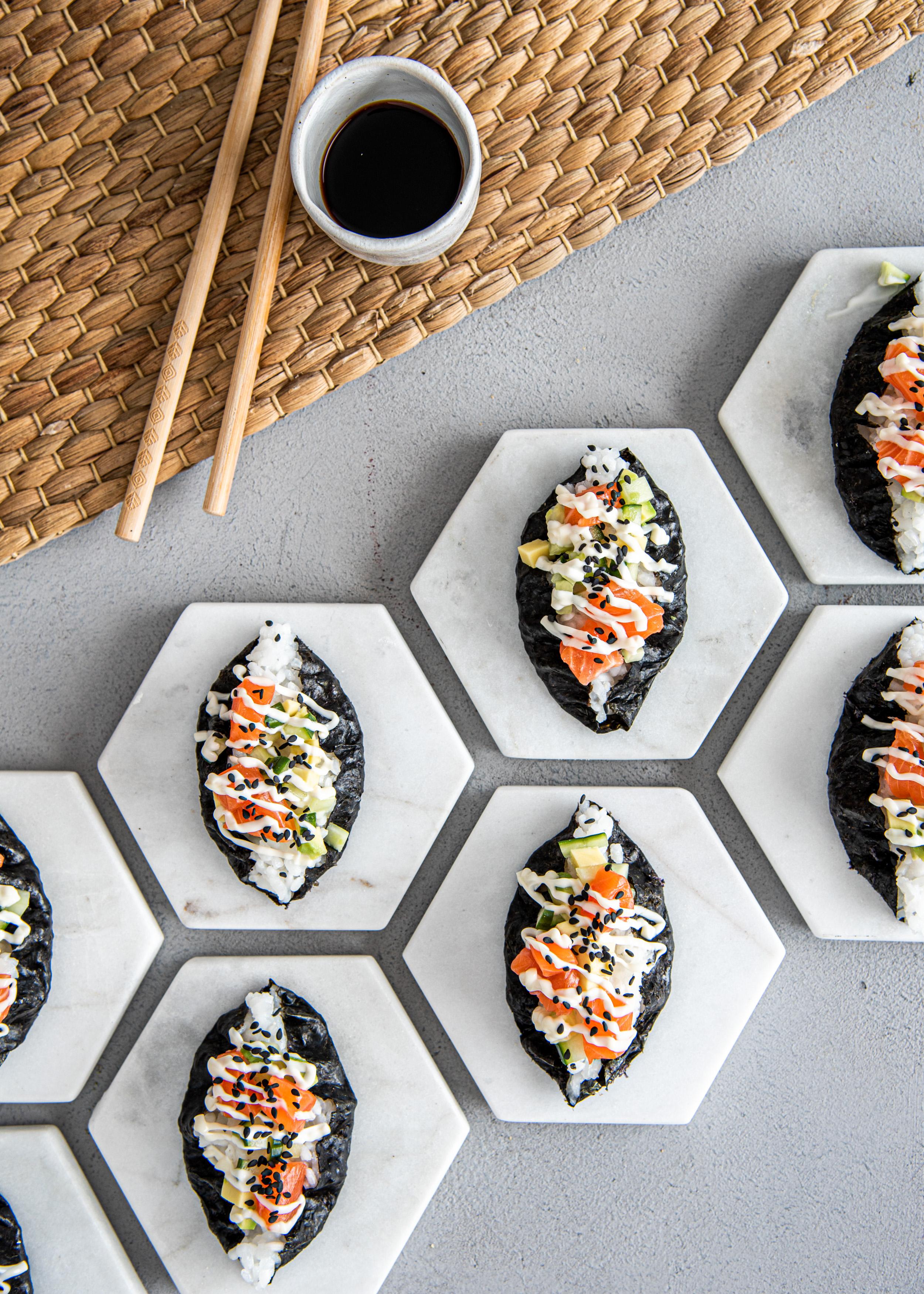 Sushi-riisipiirakat