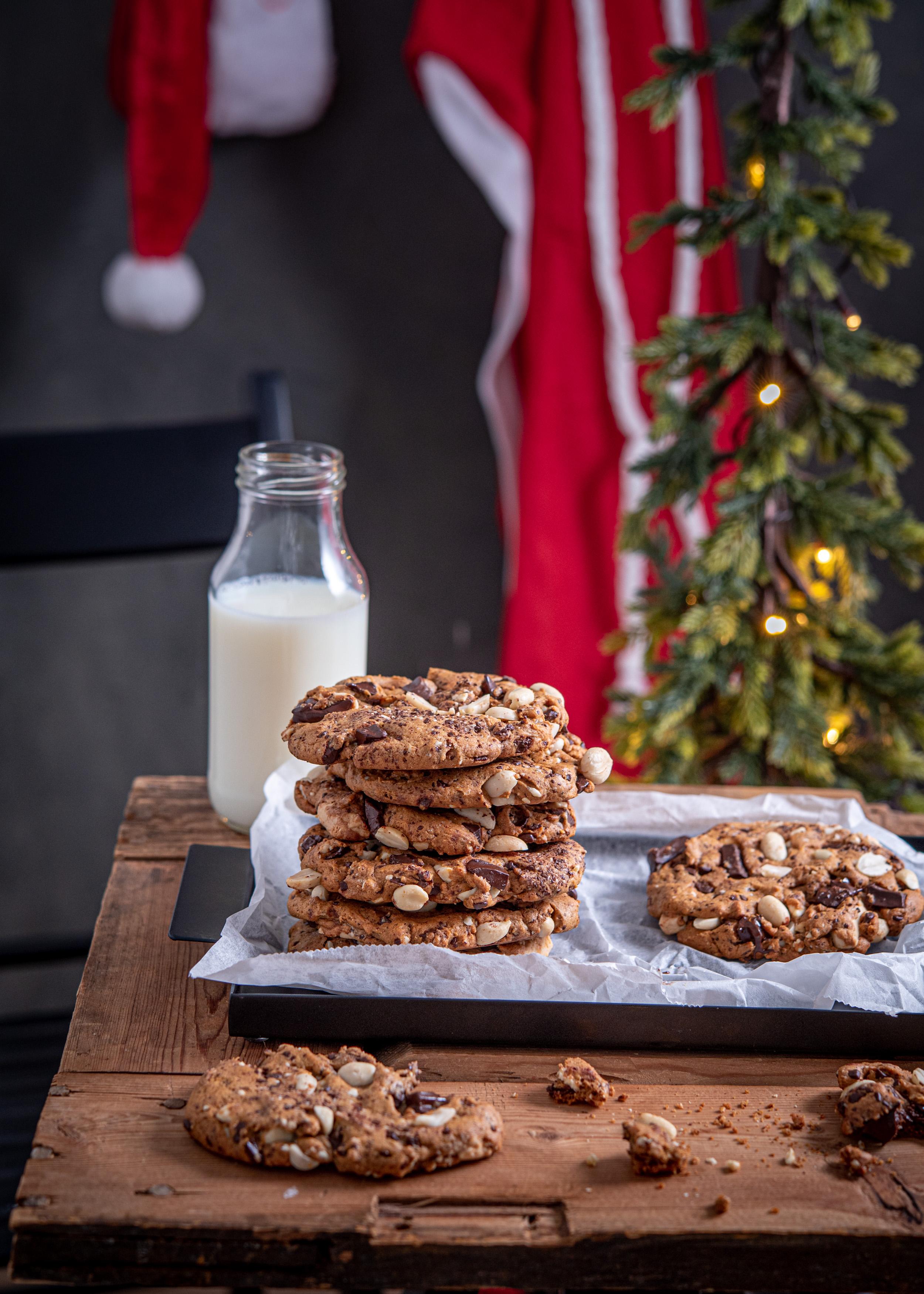 Pipari-suklaakeksit eli joulucookiet