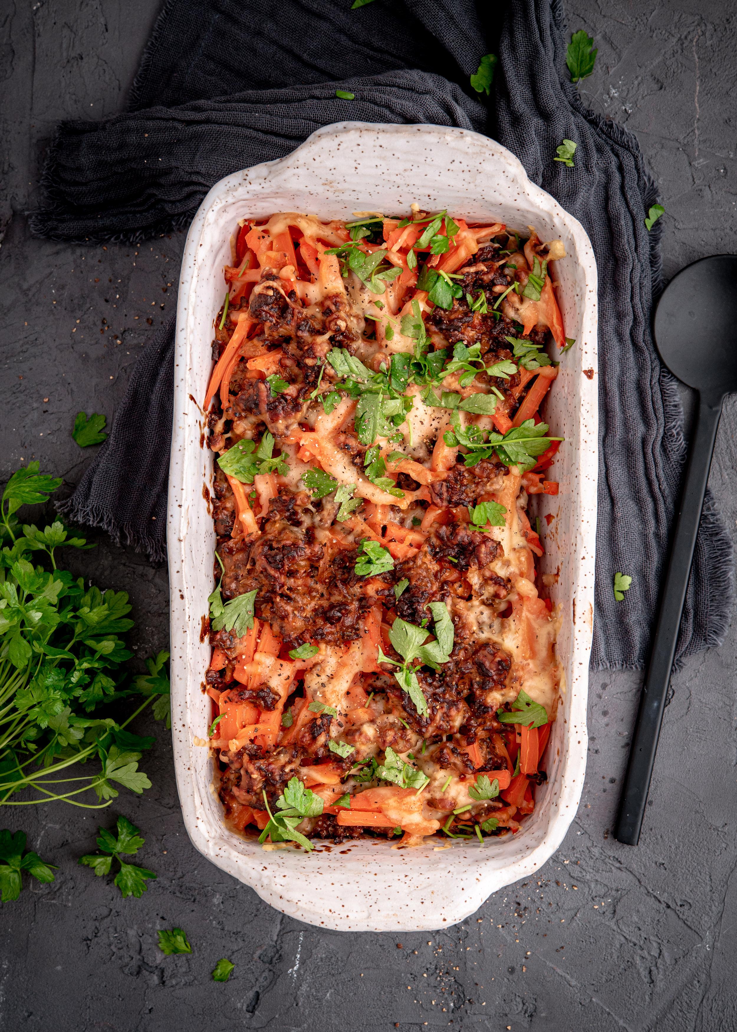 Jauheliha-porkkanakiusaus