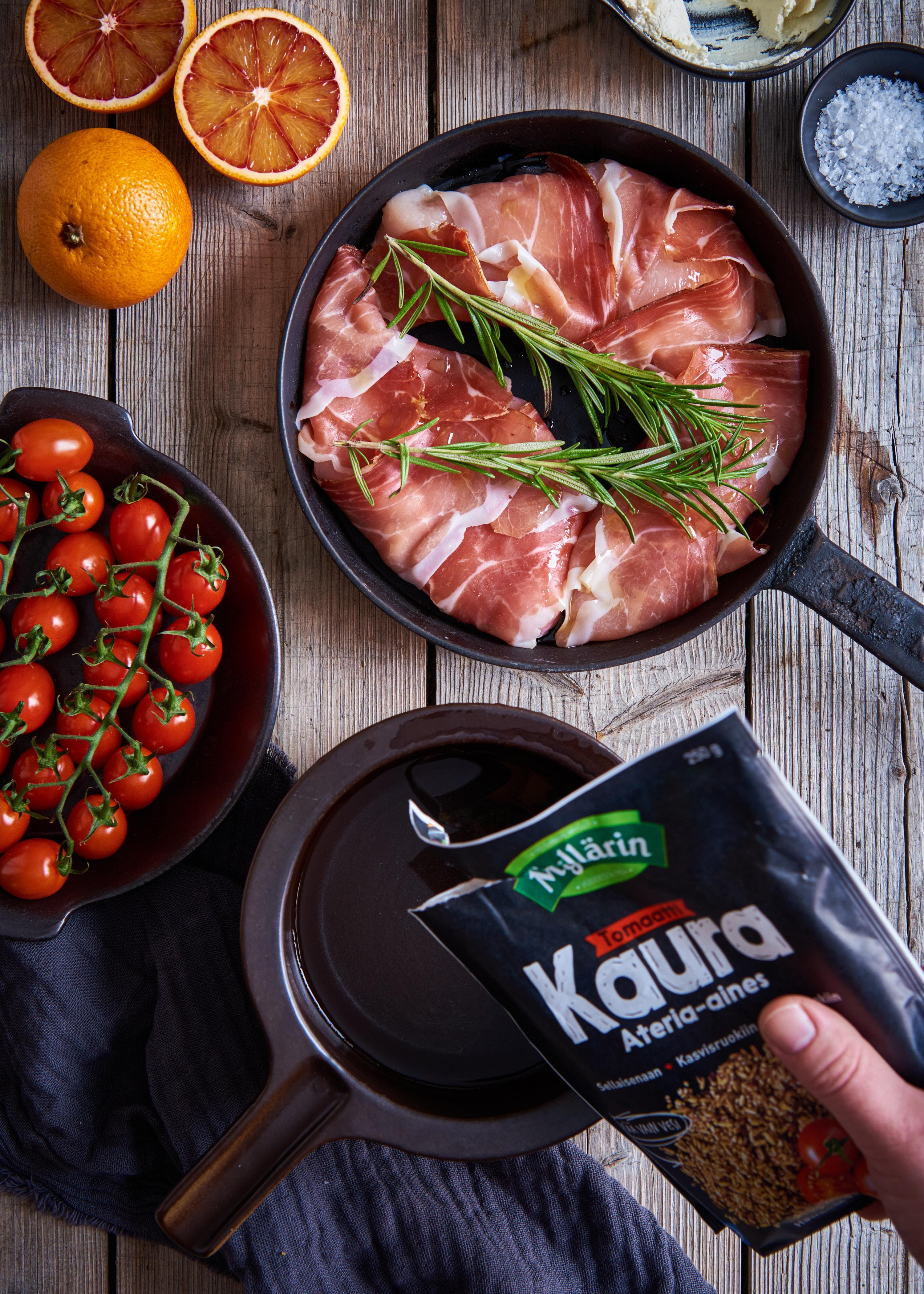kaura ateria-aines