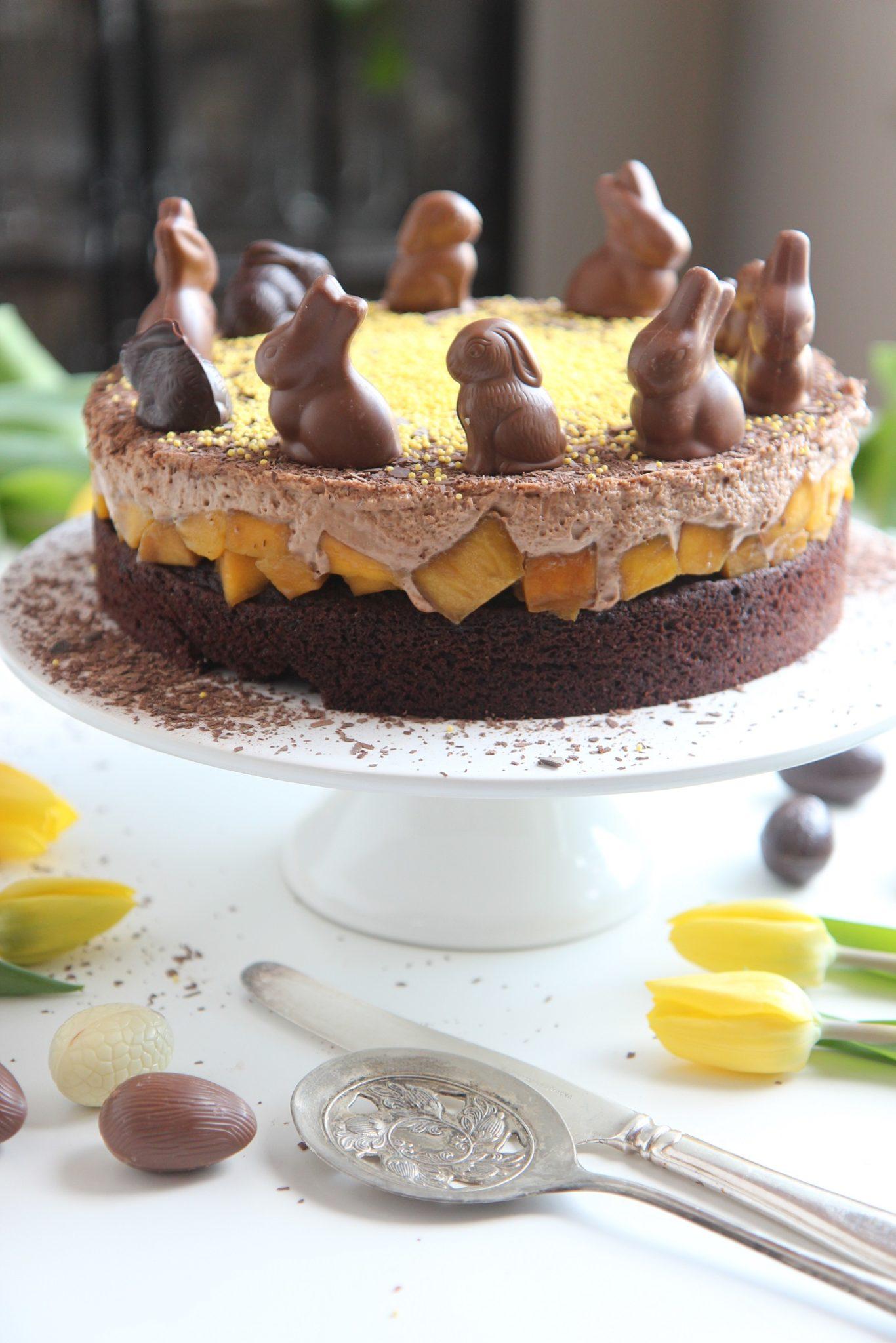 Pääsiäisen mehevin suklaakakku