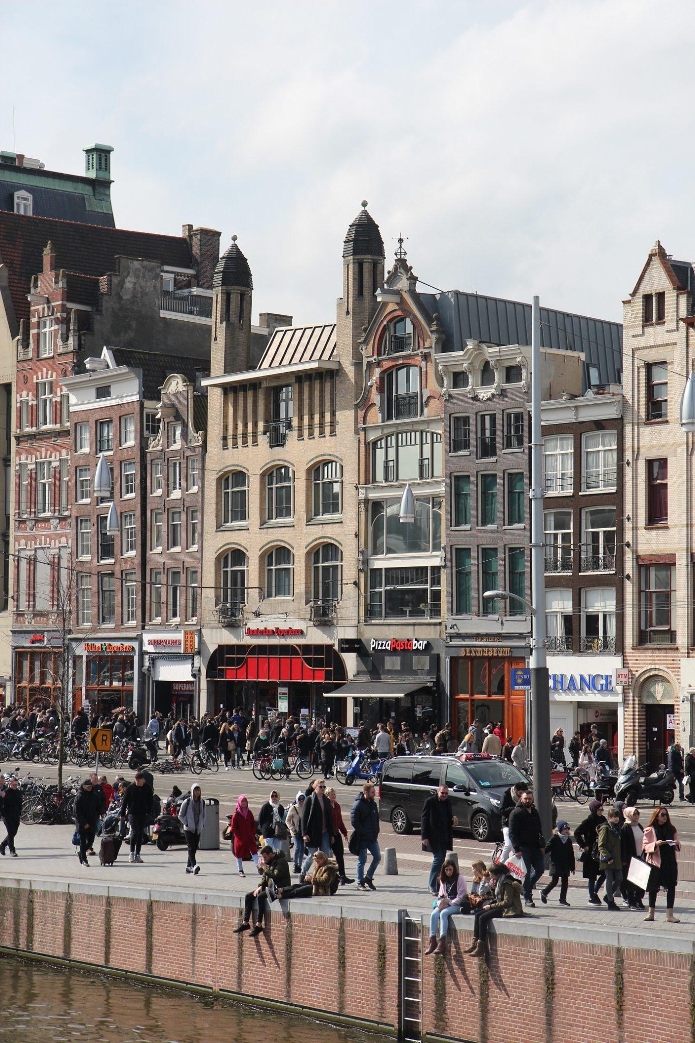 Keväinen Amsterdam