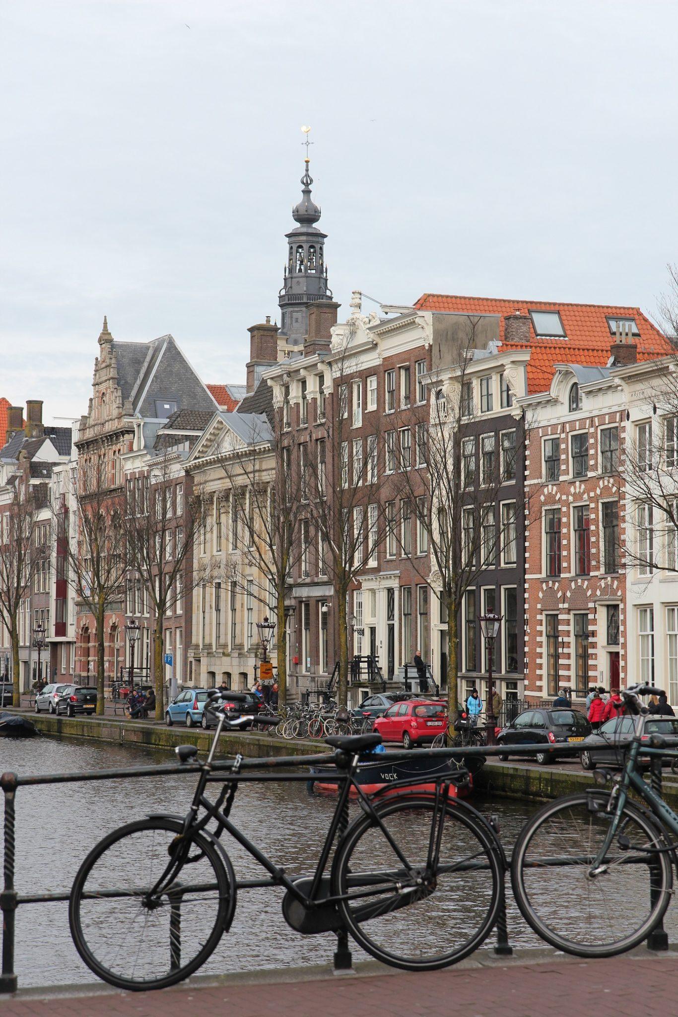 Amsterdam pyöräilyn pääkaupunki