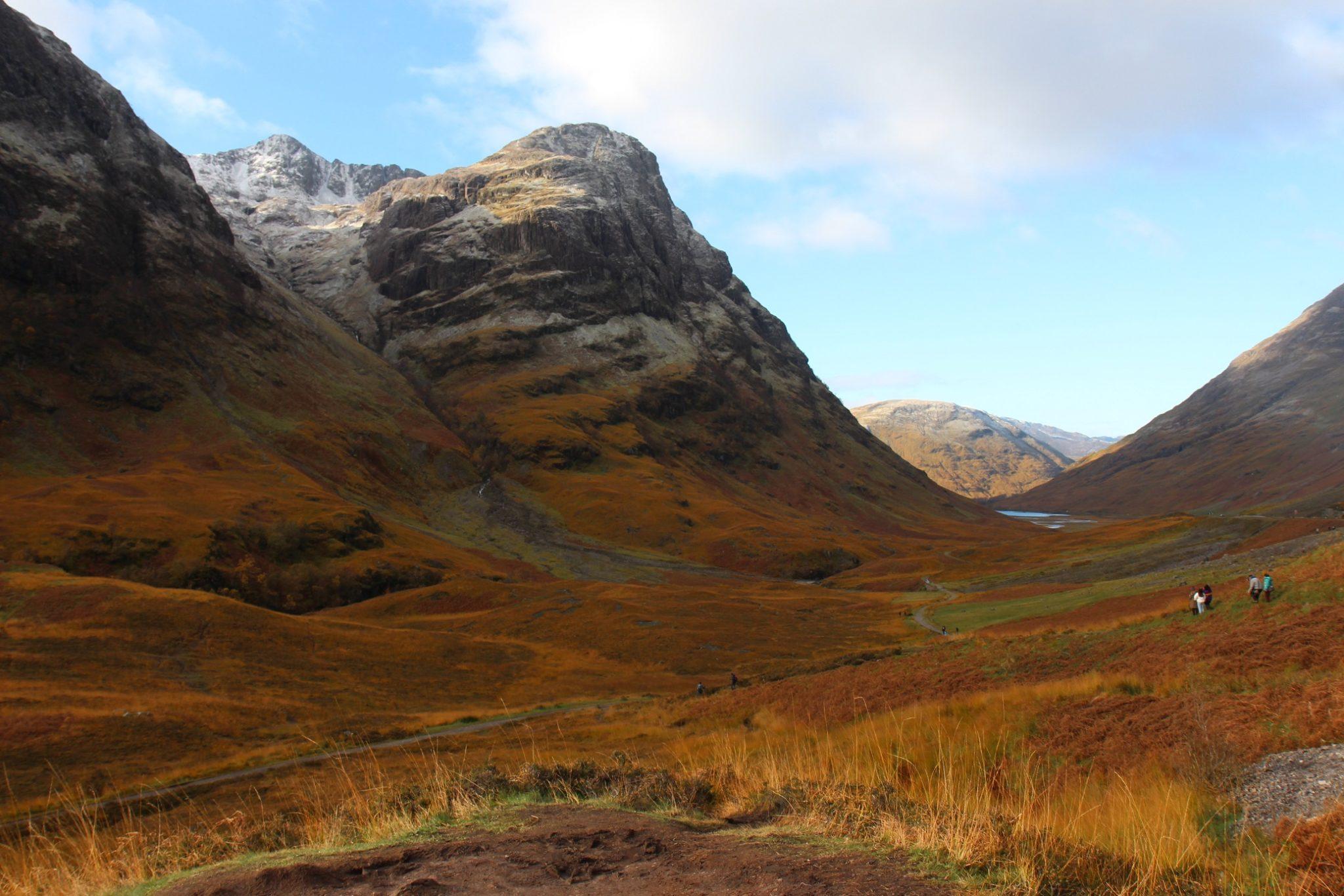 Skotlannin ylängöillä