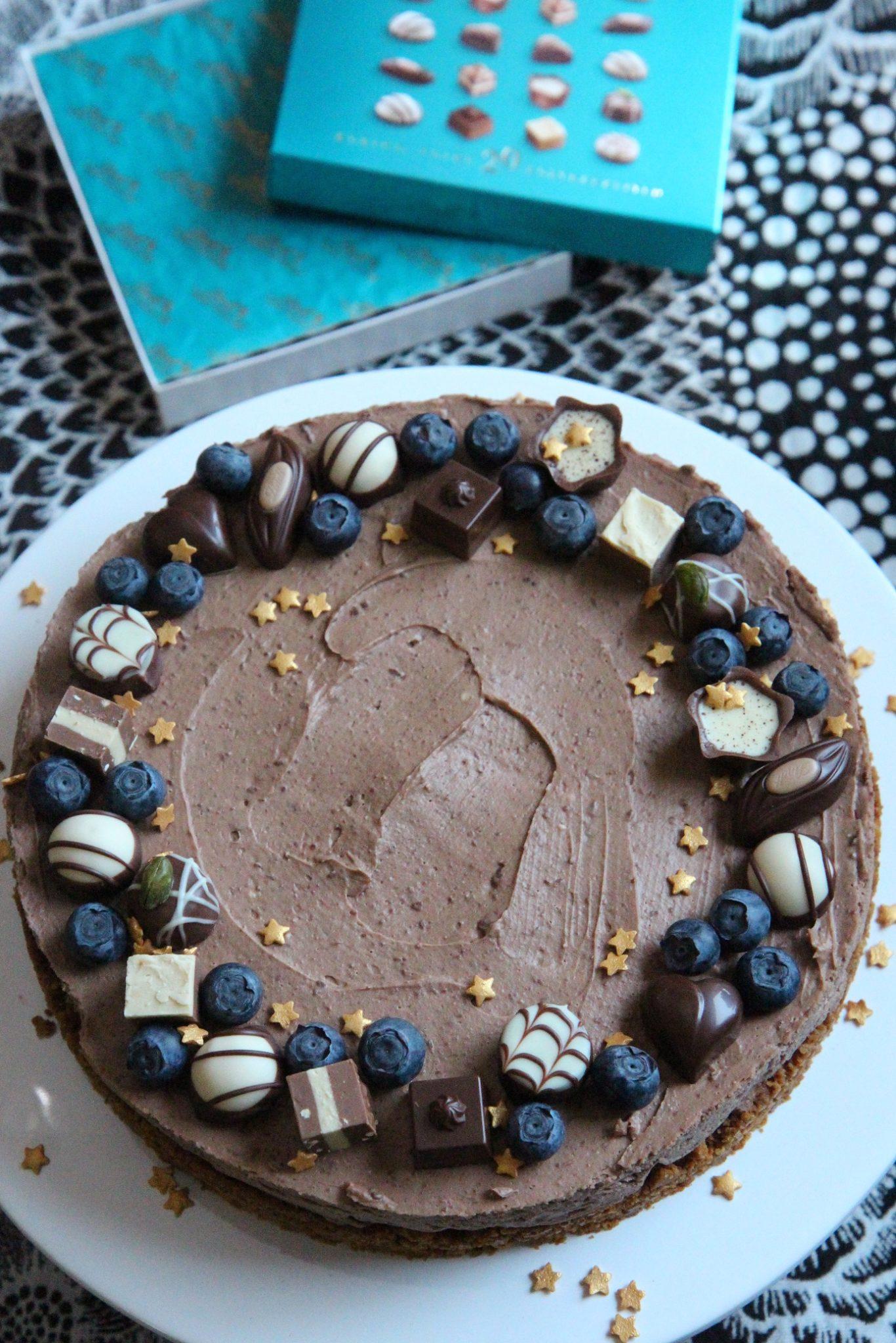 Piparinen suklaajuustokakku