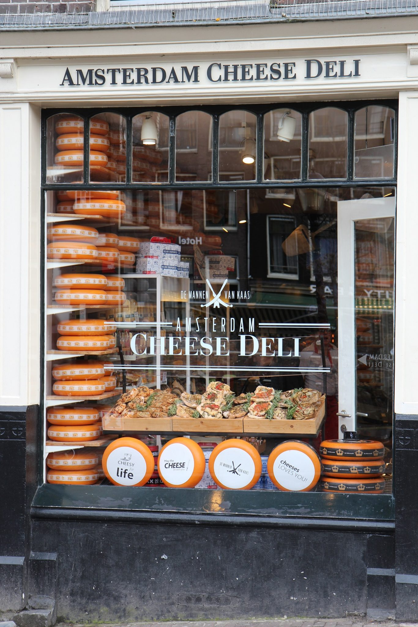 Amsterdam juustojen mekka