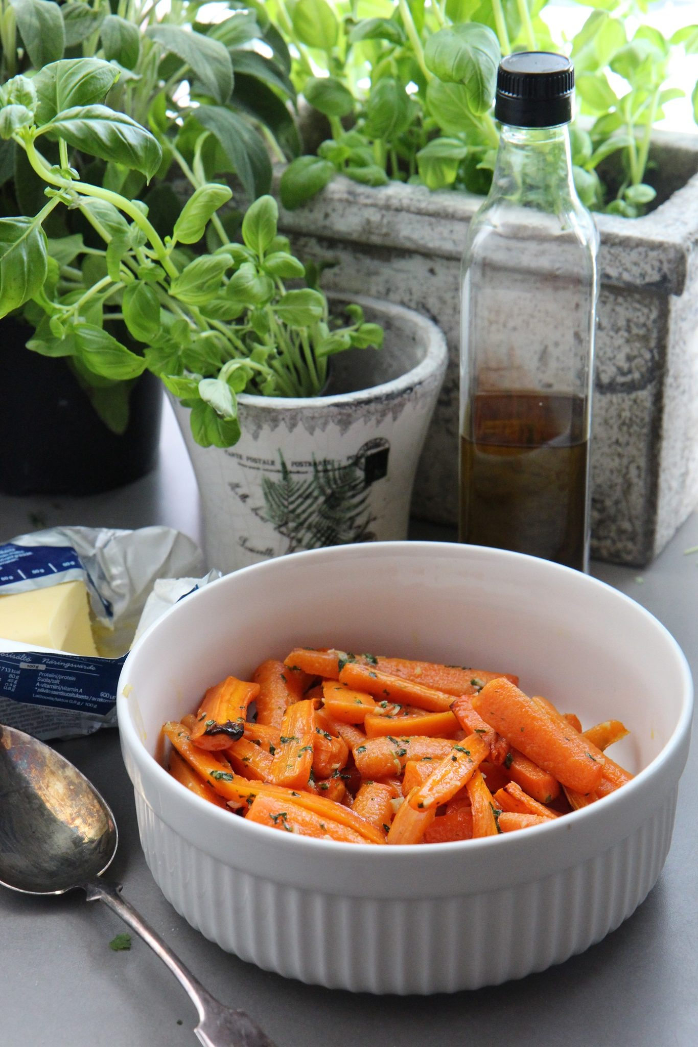 Pirteyttä porkkanoista