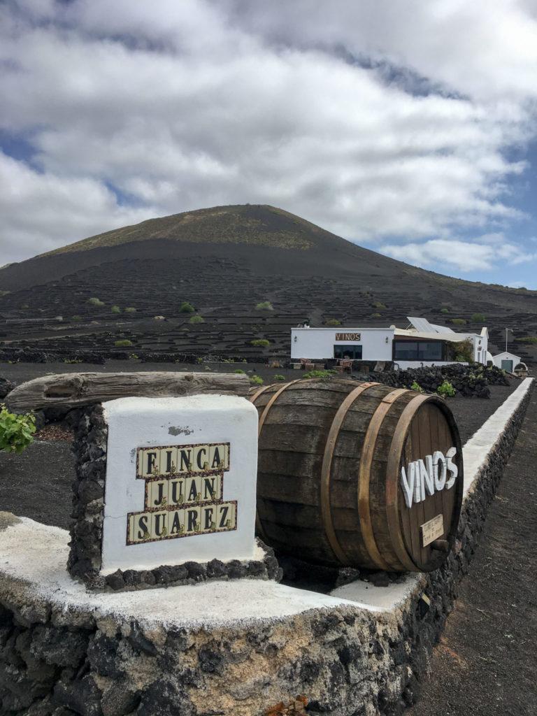 Viinitilakierroksella Lanzarotella