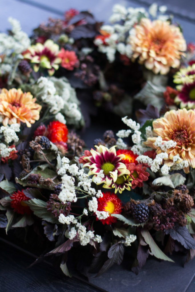 Kukkakurssilla piristystä arkeen