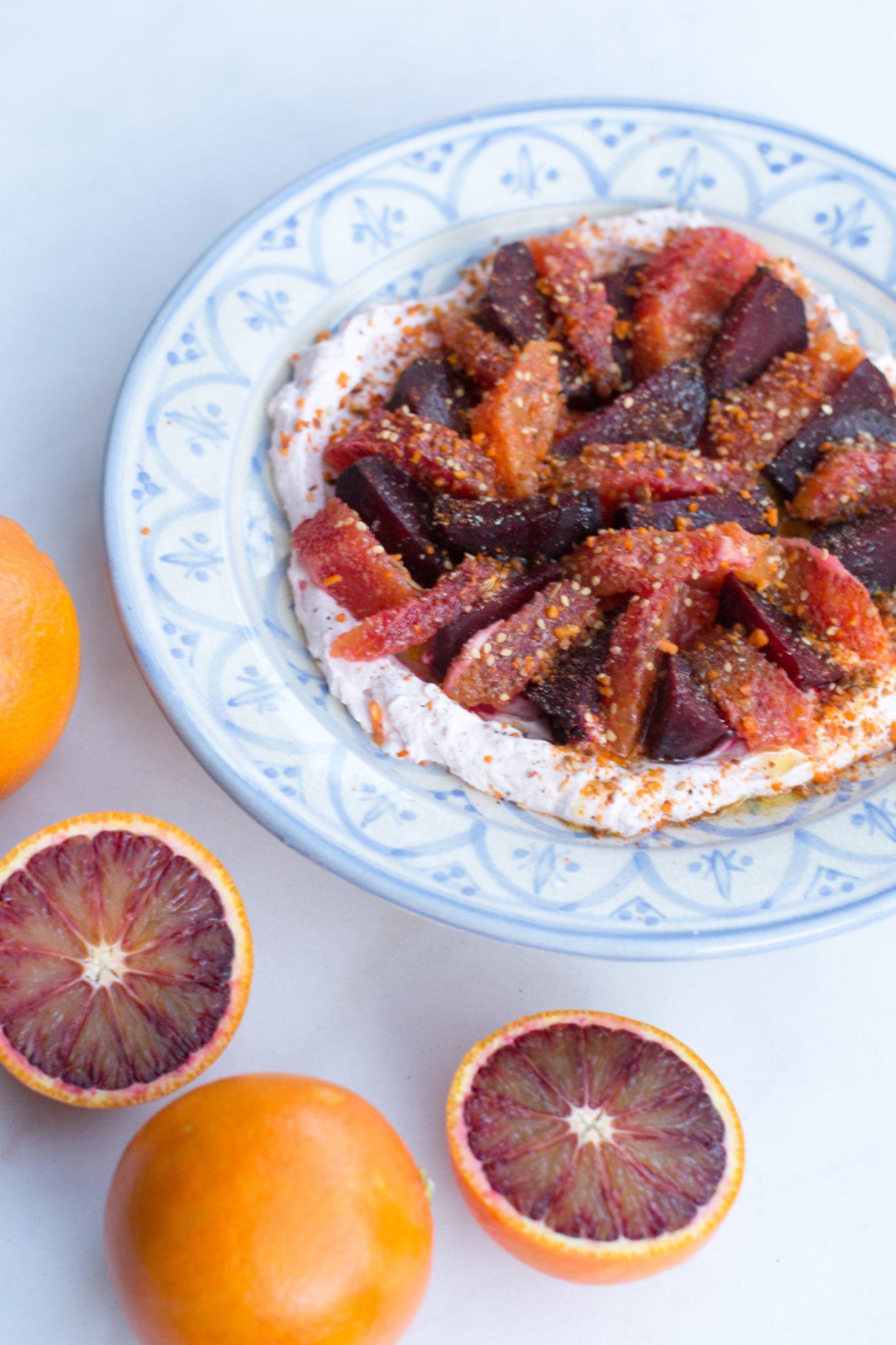 Viimeisiä viedään: Veriappelsiinilohkoja ja paahdettua punajuurta
