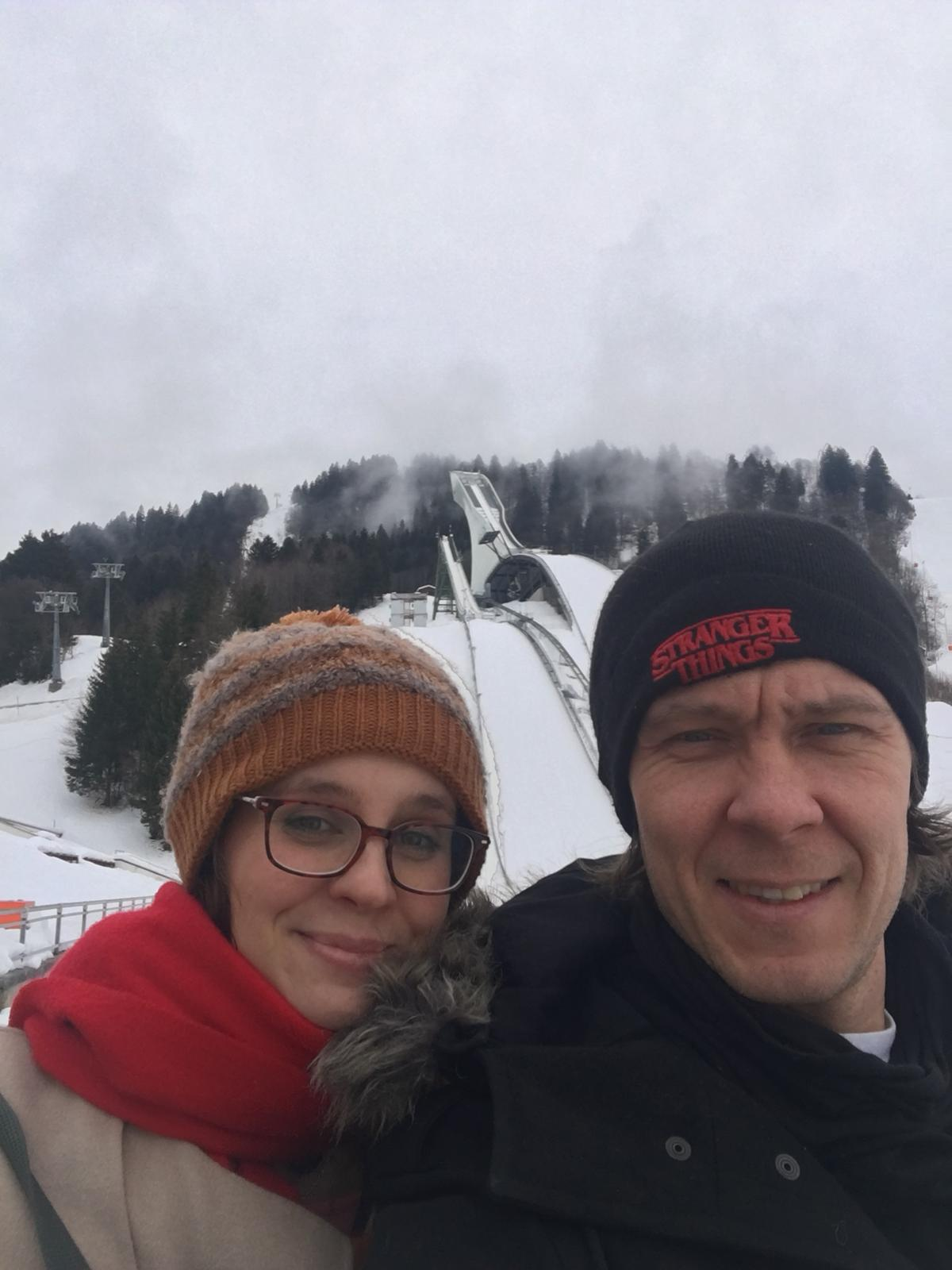 Oluella Garmisch-Partenkirchenissä