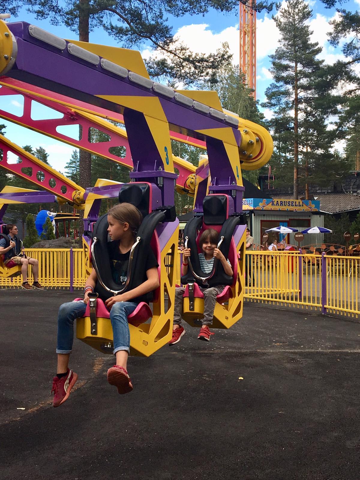 Tykkimäki, huvipuisto, amusement park, Endeavour
