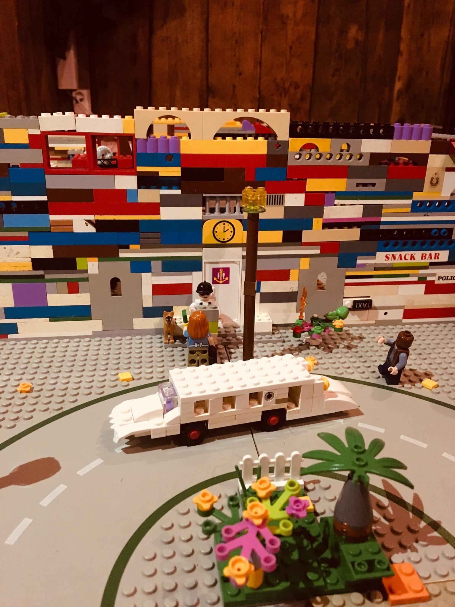 Lego limousine, limousine, Lego hotel