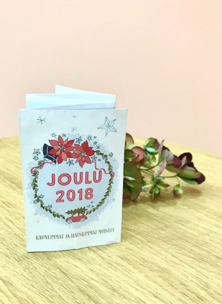 Pieni joulukirja – lahja blogin lukijoille <3