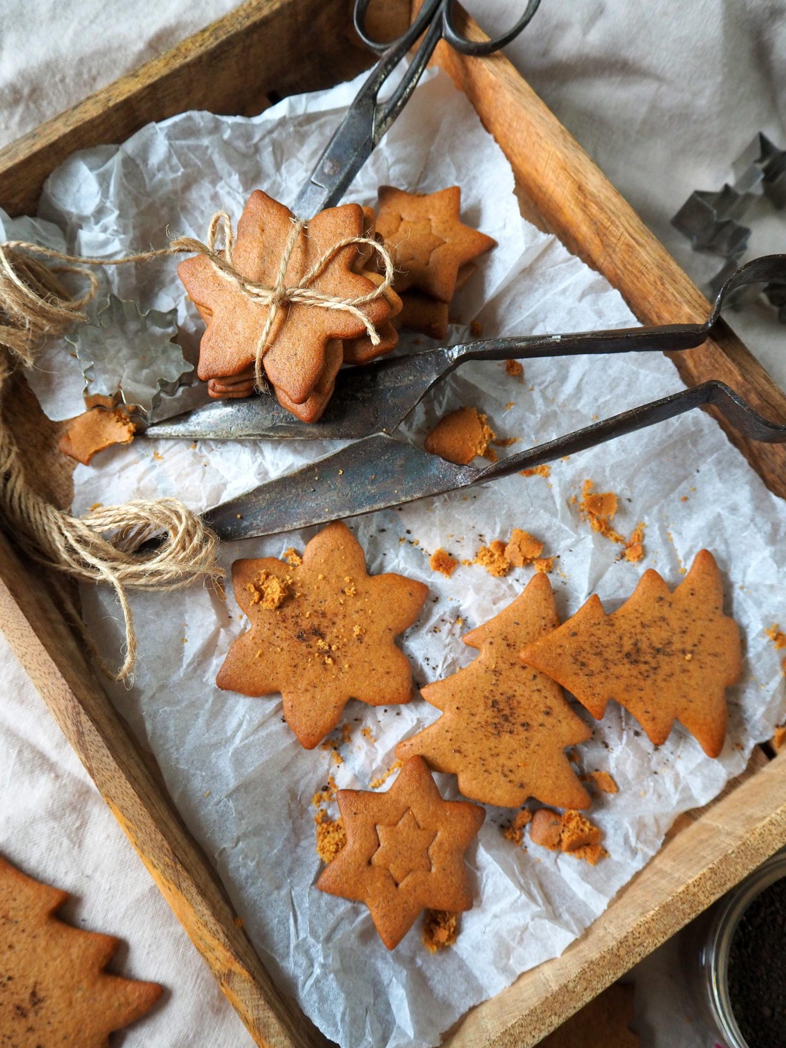 Gluteenittomat lakritsipiparit - Joulukalenteri luukku 2