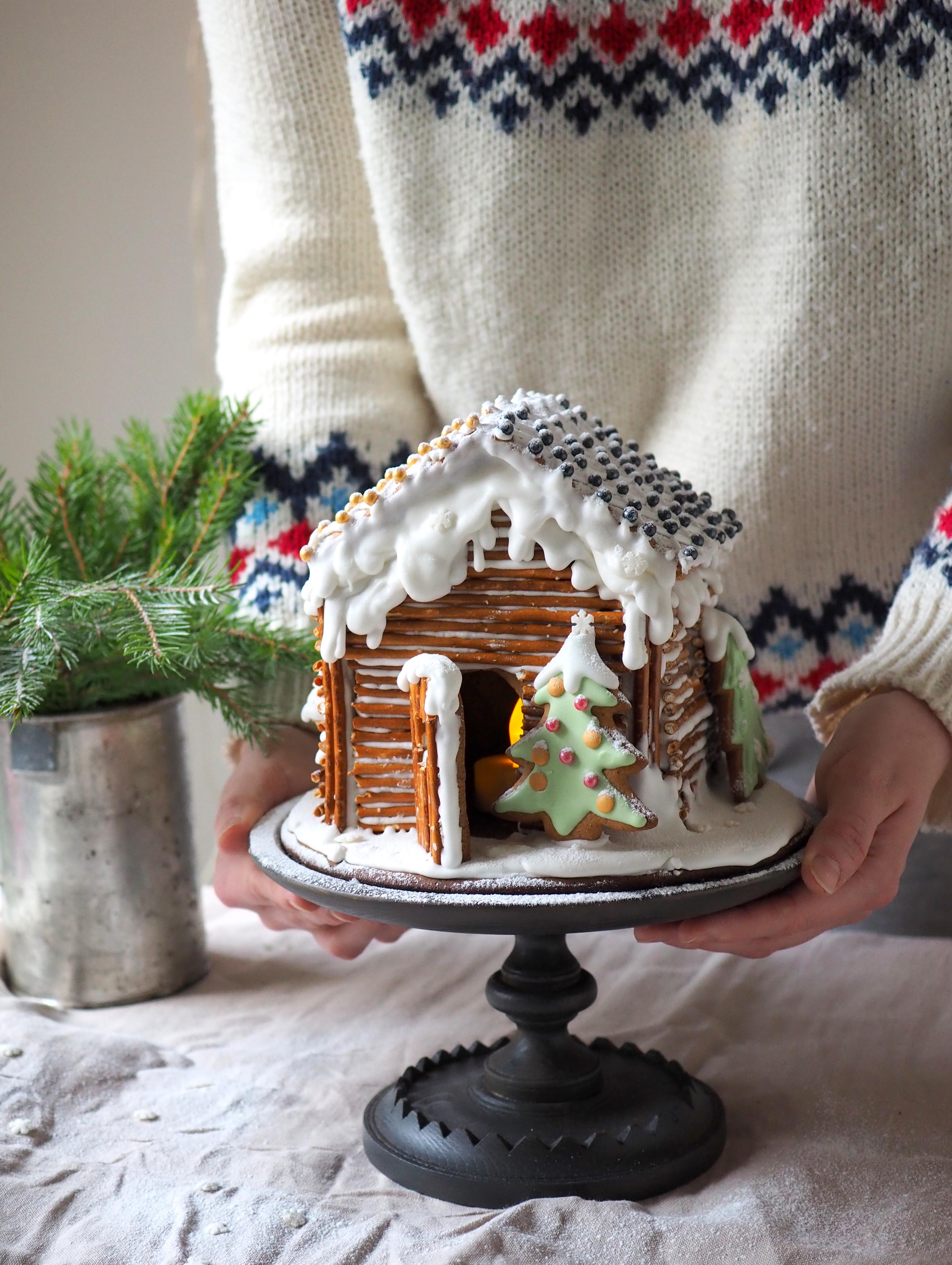 Jonnan piparkakkutalo – Joulukalenteri luukku 9
