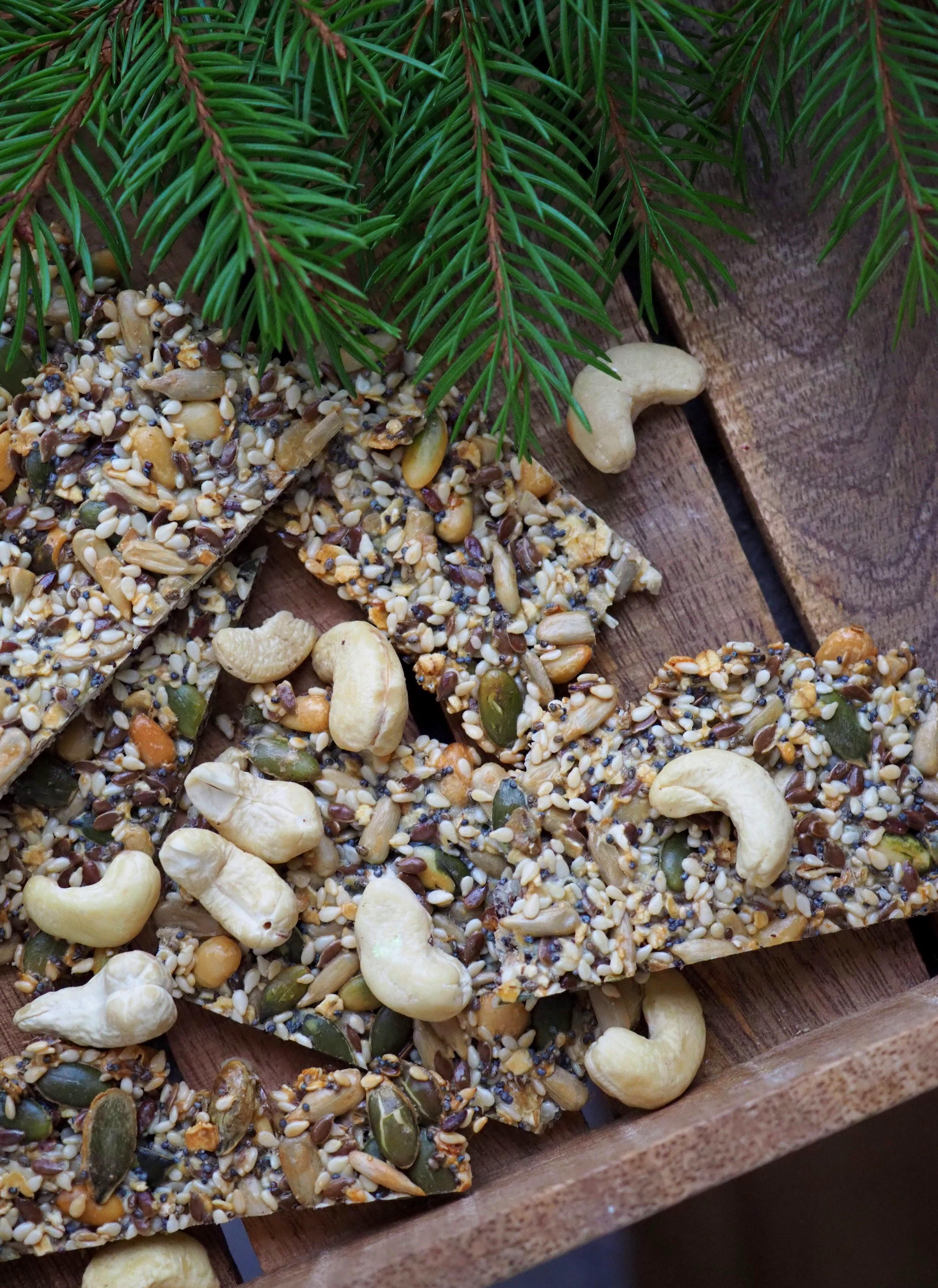 Pähkinäinen siemennäkkäri – Joulukalenteri luukku 23