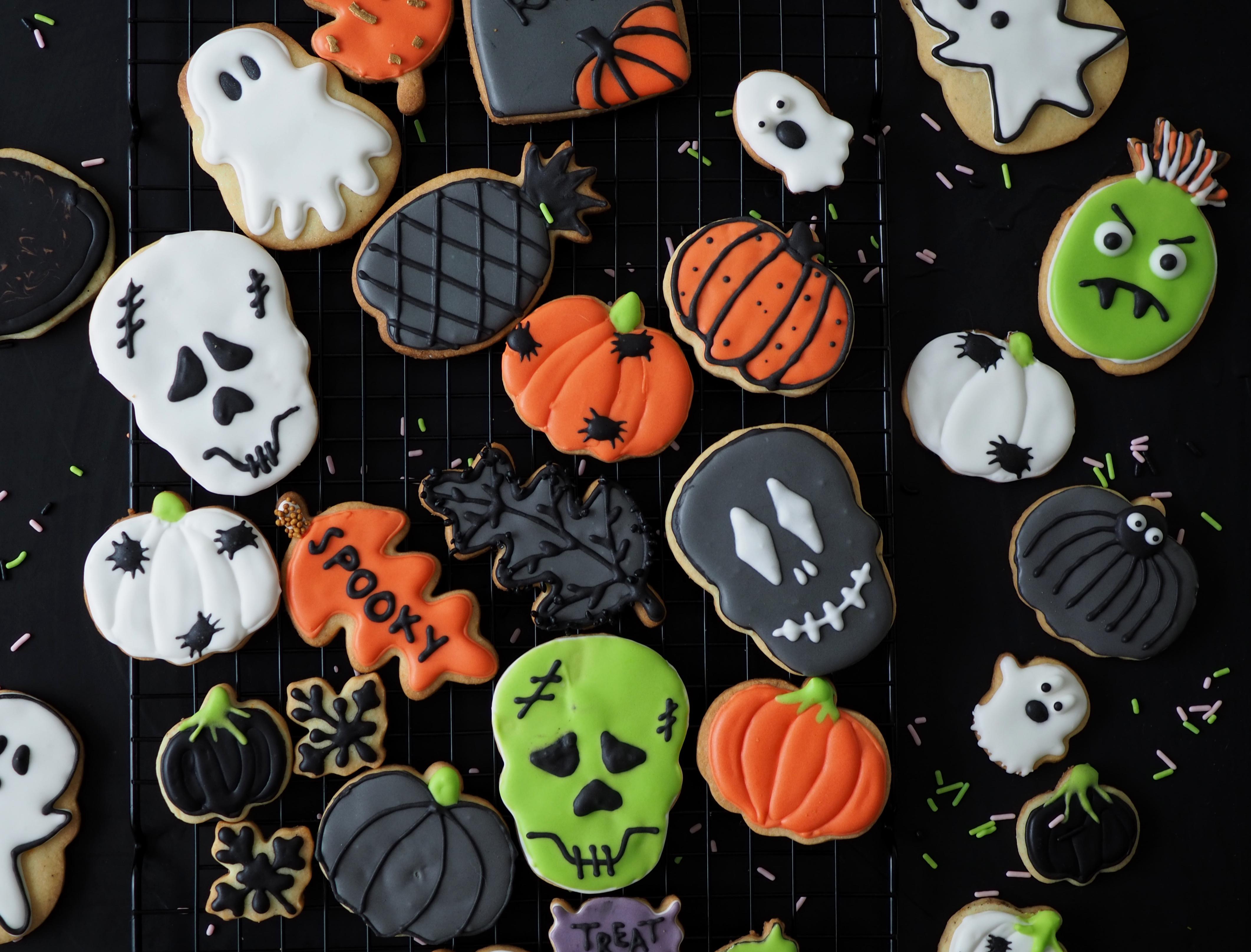 Halloween-pikkuleivät