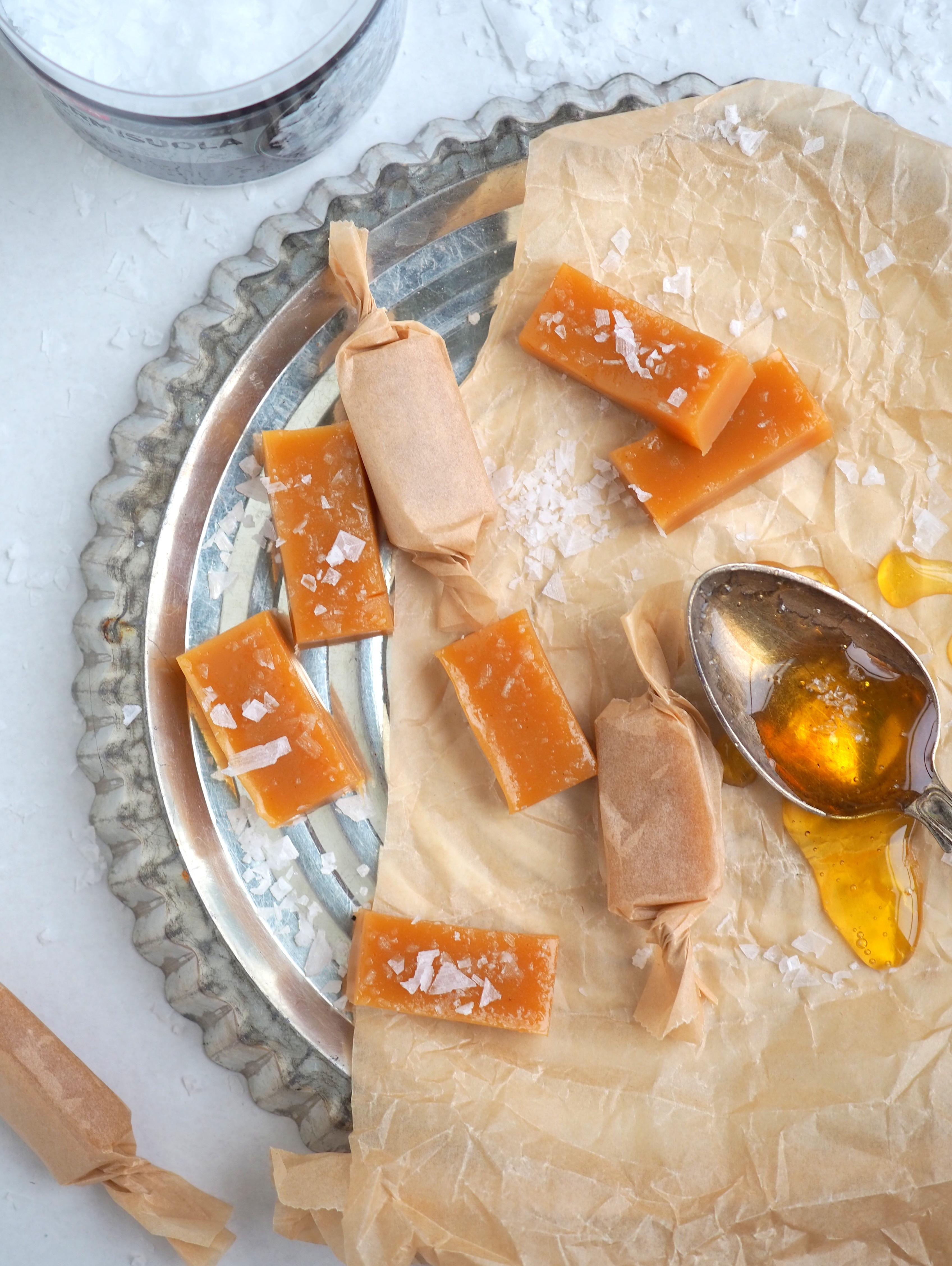 hunajakaramellit