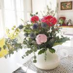 Kukkasidonta-kurssilla