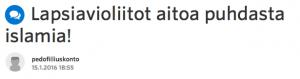 Satunnainen nimimerkki SUomi24:llä, olet väärässä.