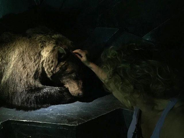 hei karhu, oot ihana ja pehmeä ja vähän pelottava, mutta jotenkin rakas ♡