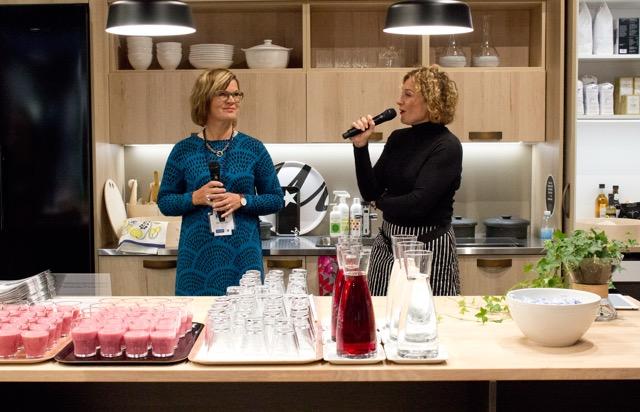 Topi-keittiöiden Riitta Ojala-Fors mun haastattelussa