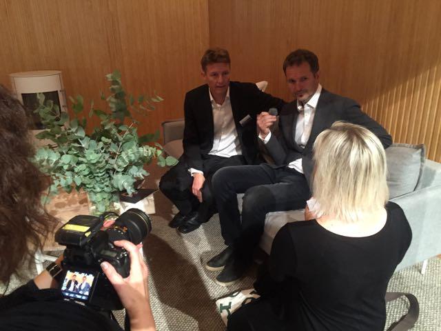 Iltalehti haastattelee toim. joht. Jaakko Taivalkoskea ja arkkitehti Pekka Pakkasta, joka on piirtänyt talon