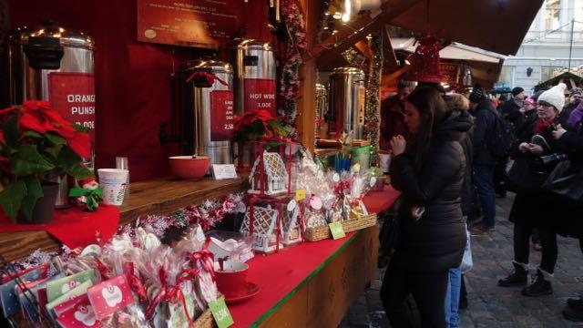 Joulumarkkinoilta löytyy kailille jotain, mutta jo katseleminen tuo joulutunnelman