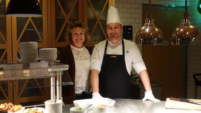 Keittiömestari Andres ja onnellinen matkustaja