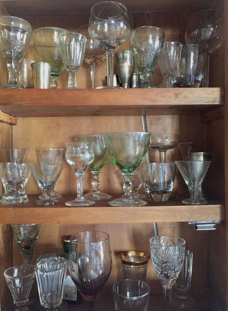 keräilyerät vanhoja laseja