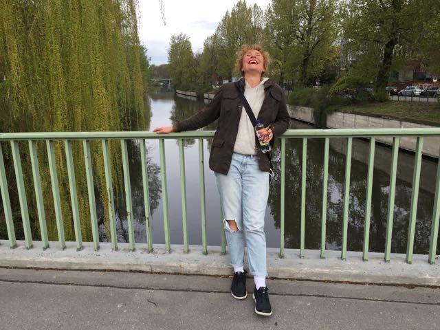 Viime keväänä berliinissä yhden ilopillerin kanssa!