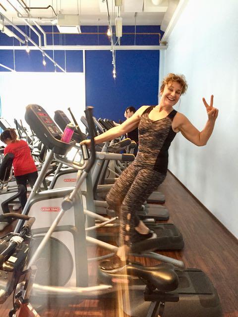 Hyvän treenin jälkeen elää on ihanaa - miksi en siis  treenaa joka päivä?