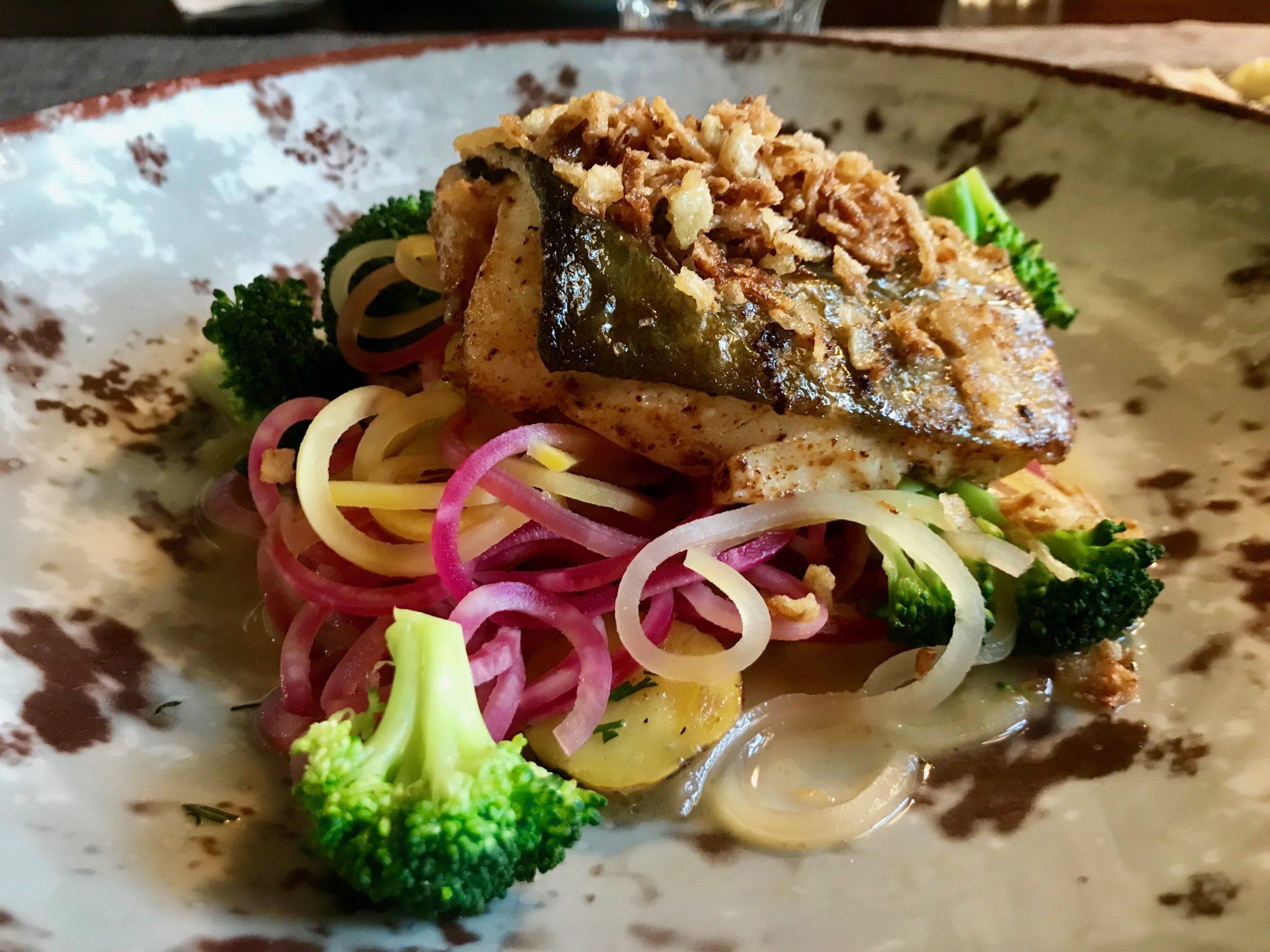 Castellon rapeaksi paistettua kalaa
