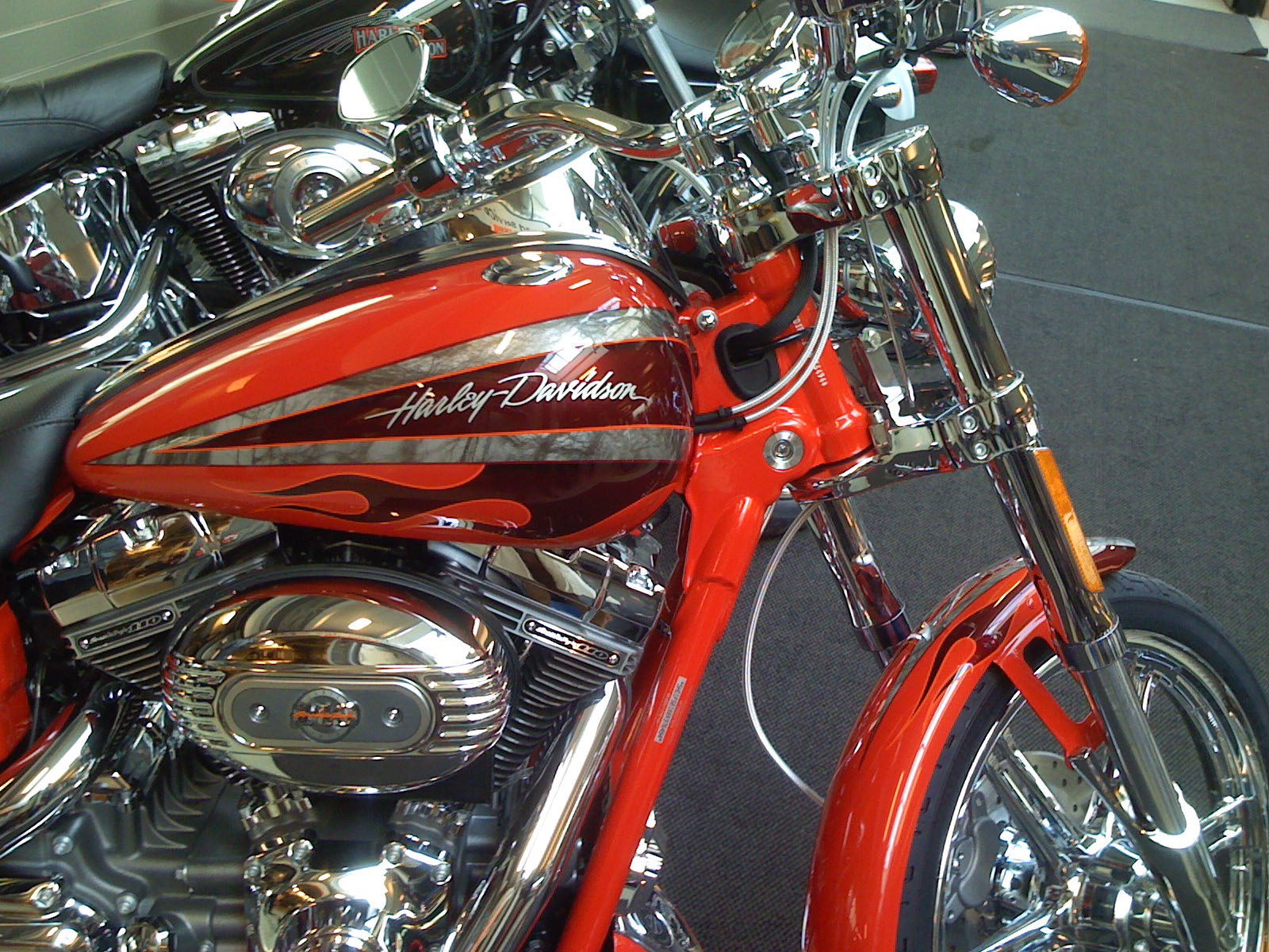 Harley Davidson Screemin Eagke Dyna