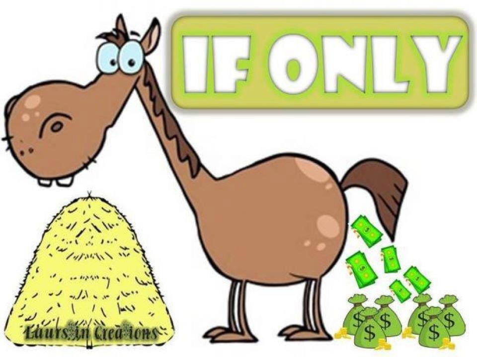 horse poop money