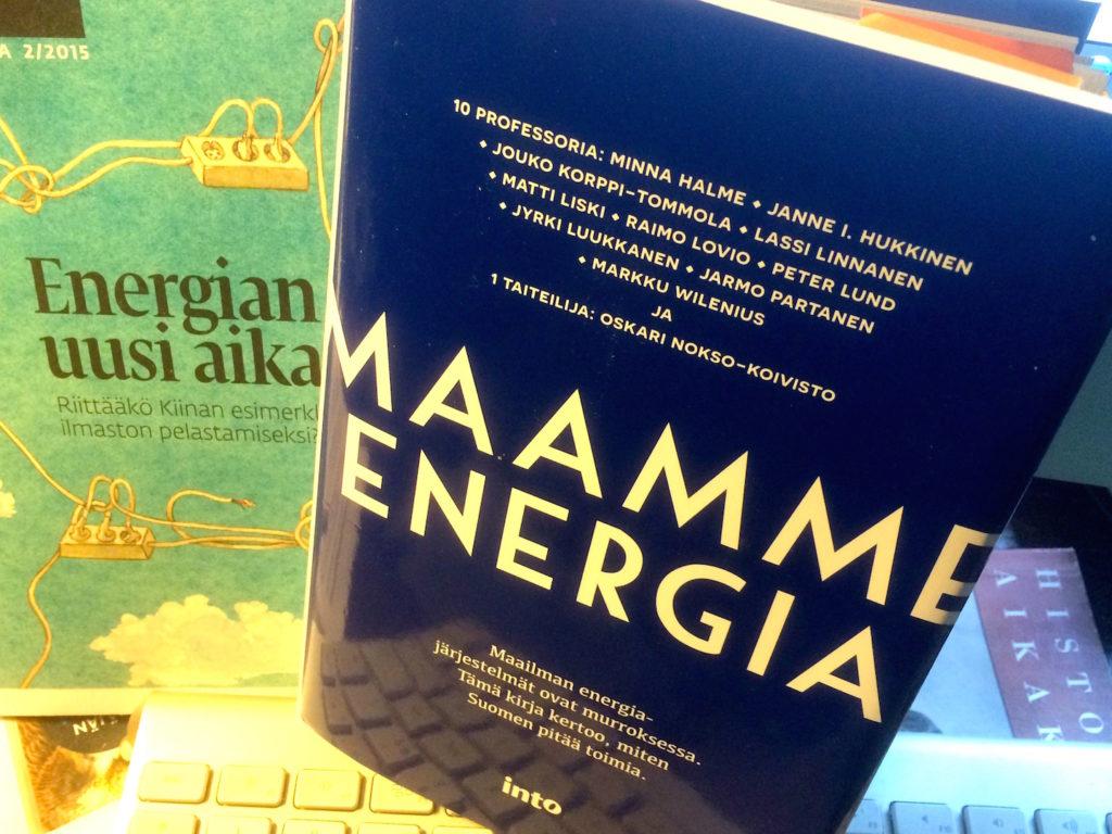 Maailman energiajärjestelmät ovat murroksessa. Kirja kertoo, miten Suomen pitää toimia. Into 24 €