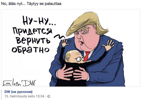 Pilapiirtäjä Sergei Jelkin - Se (Krim) täytyy palauttaa.