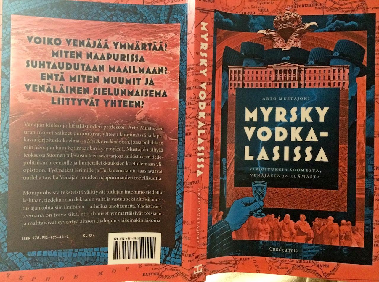 Kirja-arvio: Arto Mustajoki – Myrsky vodkalasissa