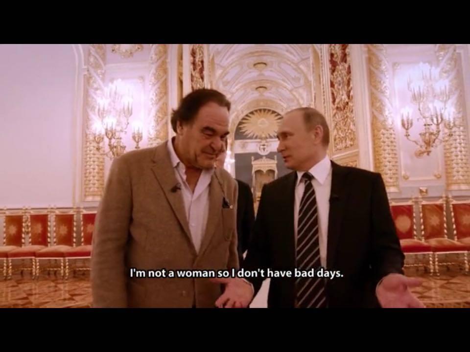 """""""En ole nainen - ei minulla ole huonoja päiviä."""""""