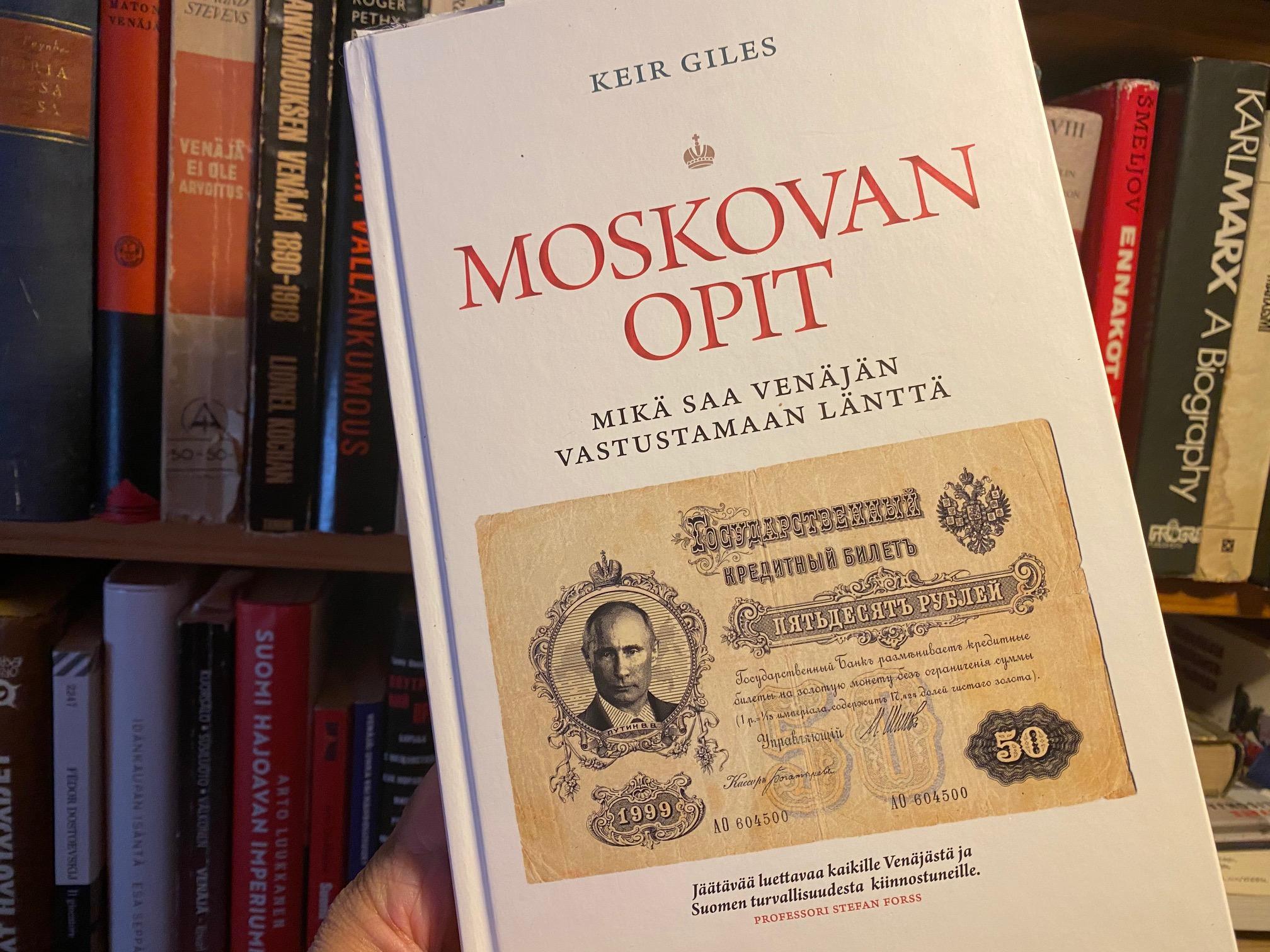 Kirja-arvio: Keir Giles – Moskovan opit
